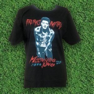 🏁 Bruno Mars 'Moonshine Jungle' Tour T-Shirt 🏁